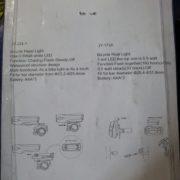 Фара  JY-224 (фонарь, стоп)