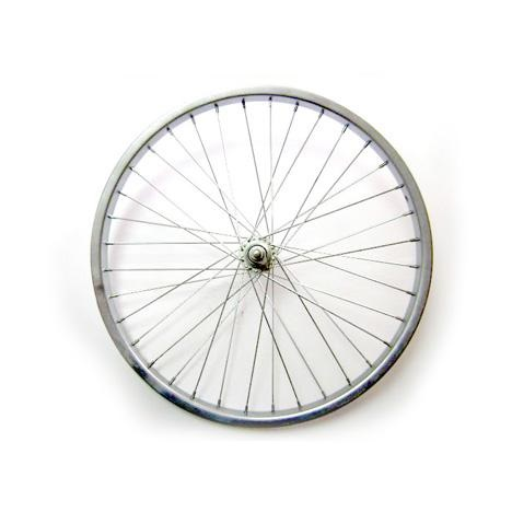колесо 20 переднее хром.