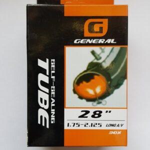 Камера General Self Sealing 28x1,75/2.125 Long AV
